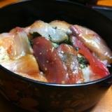 お寿司屋さんのチラシ寿司