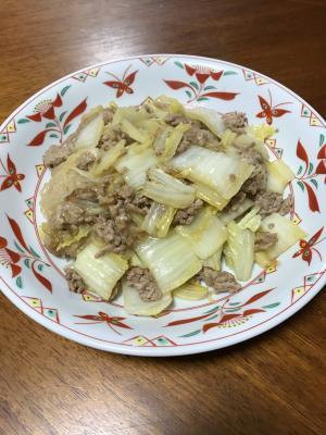 白菜の中華風炒め