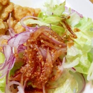 紫玉ねぎとレタスのサラダ