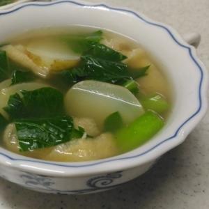 じゃがいもの和風スープ