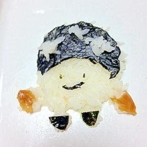 ご飯と海苔とはちみつ梅のコドモダケ