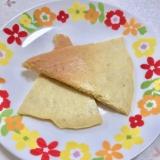 ベーキングパウダー無し!米粉でバナナパンケーキ♡