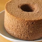 黒ココアシフォンケーキ