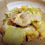 白菜と豚バラ肉のとろとろ煮