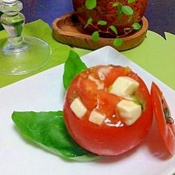 まるまるトマトのサラダ