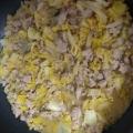 白菜の肉味噌炒め