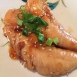 鶏ササミの照り焼き