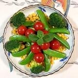 スイートコーンとブロッコリーのサラダ~♪