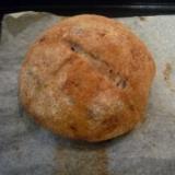 全粒粉入り♪クランベリー&フィグの天然酵母のパン