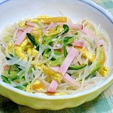 味ポンとごま油で簡単 春雨サラダ
