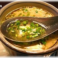 鶏ひき肉と豆腐の蒸しスープ