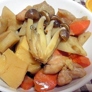 鶏肉と根菜で筑前煮風な煮物