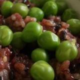 黒米入りグリーンピースご飯