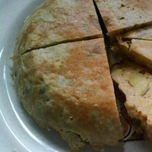 ダイエットにおからのサツマイモケーキ