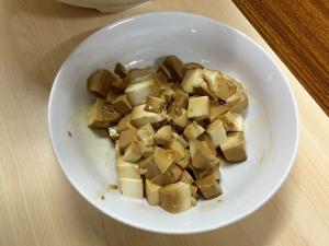 豆腐の醤油漬け