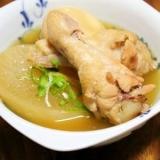 体温まる♪『大根と鶏の親子煮』