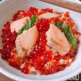 鮭といくらの簡単はらこ飯