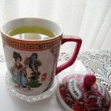 焼酎の緑茶割