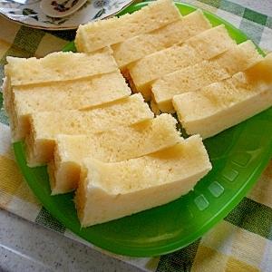 """手抜き三昧な(-""""-)チーズ蒸しパン"""