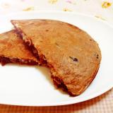 黒豆ココア御飯パンケーキ