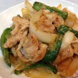 豚こまと野菜の醤油麹炒め