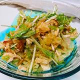 キャベツの中華サラダ