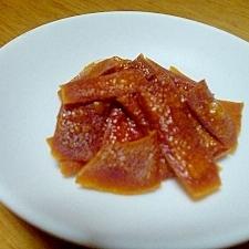 柿の皮スナック