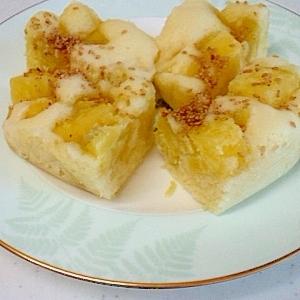 サツマイモの蒸しパン