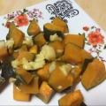 かぼちゃとベビーチーズのサラダ