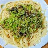 冷製ガーリック胡麻醬油パスタ