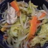 栄養満点♪鶏肉のプルコギ風