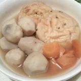 がんもどきと里芋の煮物