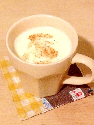 風邪にはコレ!とろふわミルク卵酒