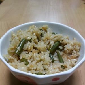 シンプルなのに美味しい!簡単インゲンご飯