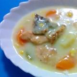 鮭のヘルシークリームシチュー