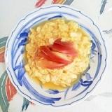 絹ごし豆腐の卵とじに茗荷