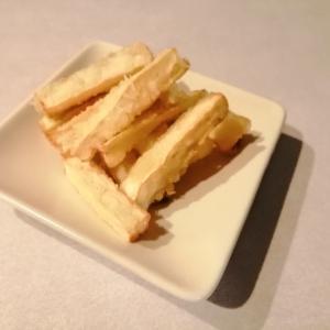 フライドポテトみたいな☆マコモダケの天ぷら