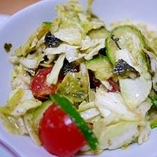 簡単美味!キャベツのゴマ風味サラダ