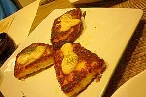 白身魚のパン粉焼き♪