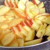 ボケてきたリンゴも美味しく☆リンゴの甘煮