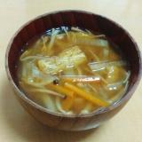 【カレーの次の日は】カレー味噌汁