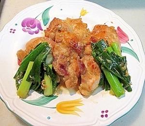 夏バテ対策♪鶏もも肉の生姜焼き