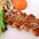 お肉の代わりに「高野豆腐」で作るメインディッシュ