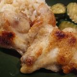 鶏手羽元の塩焼き
