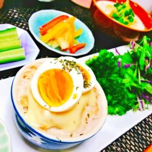 糖質制限☆カップチーズハンバーグ