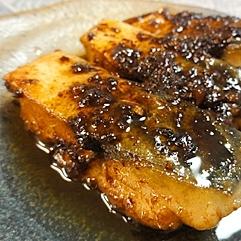 簡単、鯖の生姜焼き