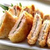 豚ヒレかつの大葉サンド