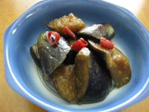 簡単美味しい♪うまうま茄子の甘辛炒め