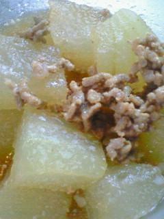 簡単☆冬瓜とひき肉の煮物