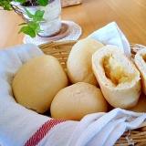 りんごジャム入りパン。